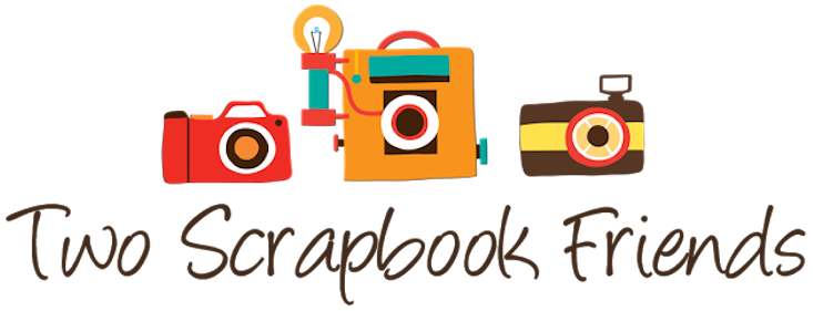 two scrapbook friends logo